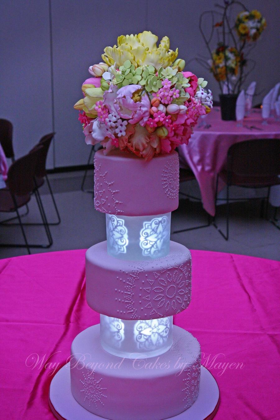 Pink Wedding Flowers