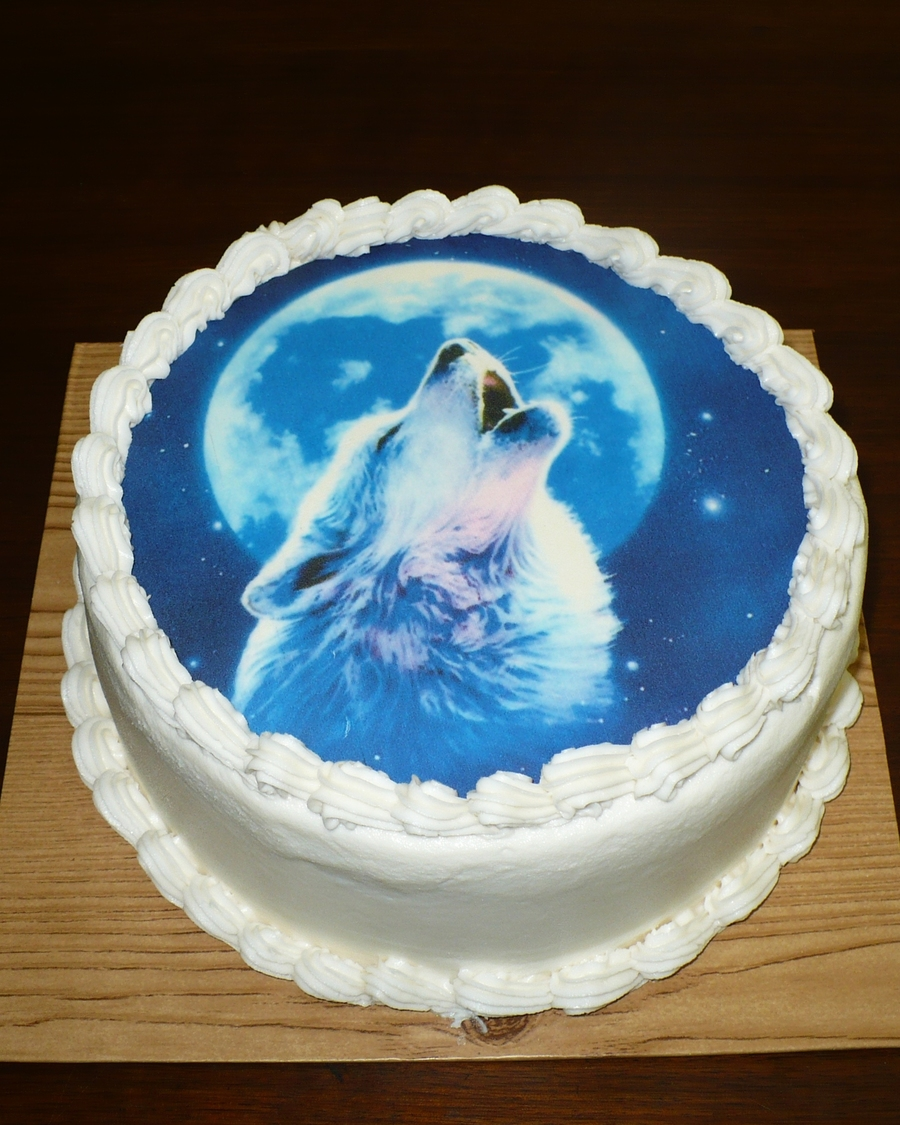 Howling Wolf Cake Cakecentral Com
