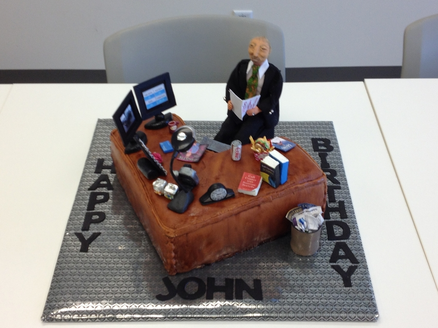 Birthday Cake For Boss Cakecentral Com
