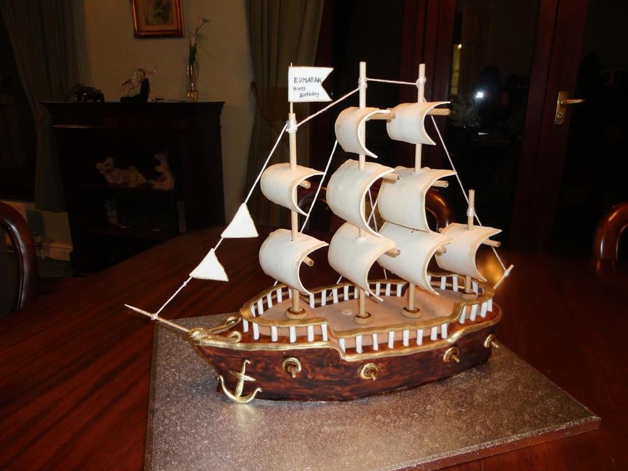 Sailing Ship Cakecentral Com