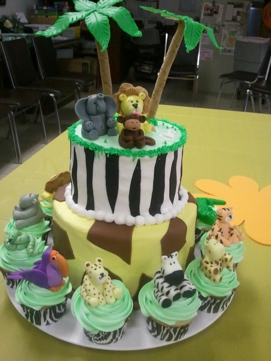 Jungle Safari Theme Baby Shower