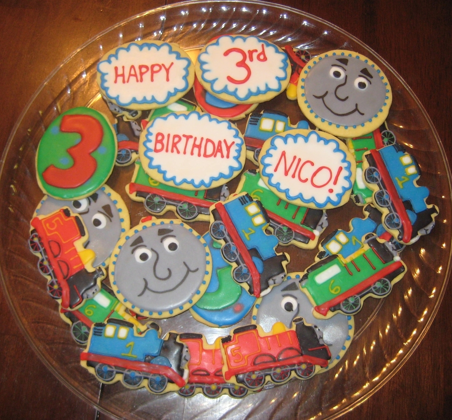 Thomas The Train Cookies Cakecentral Com
