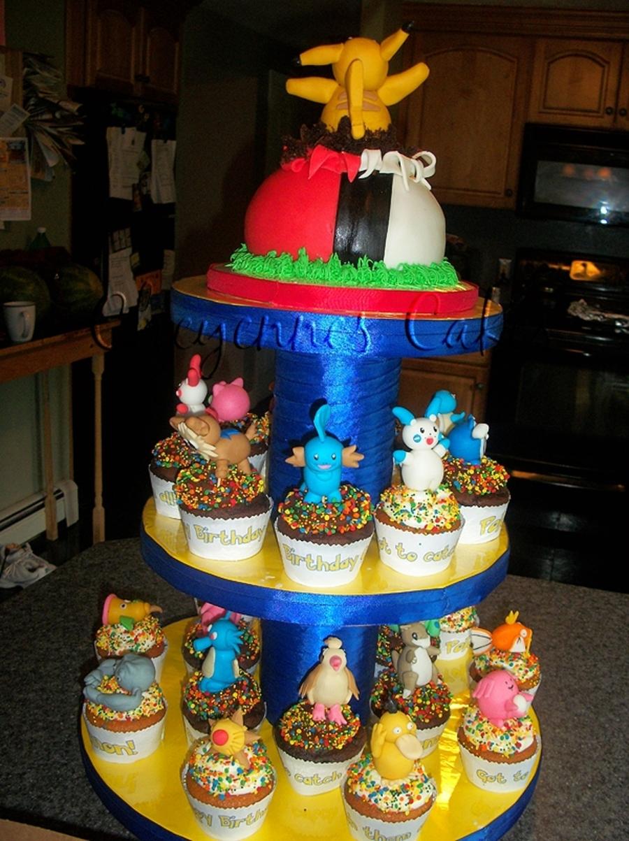 Pokemon Cupcakes Cakecentral Com