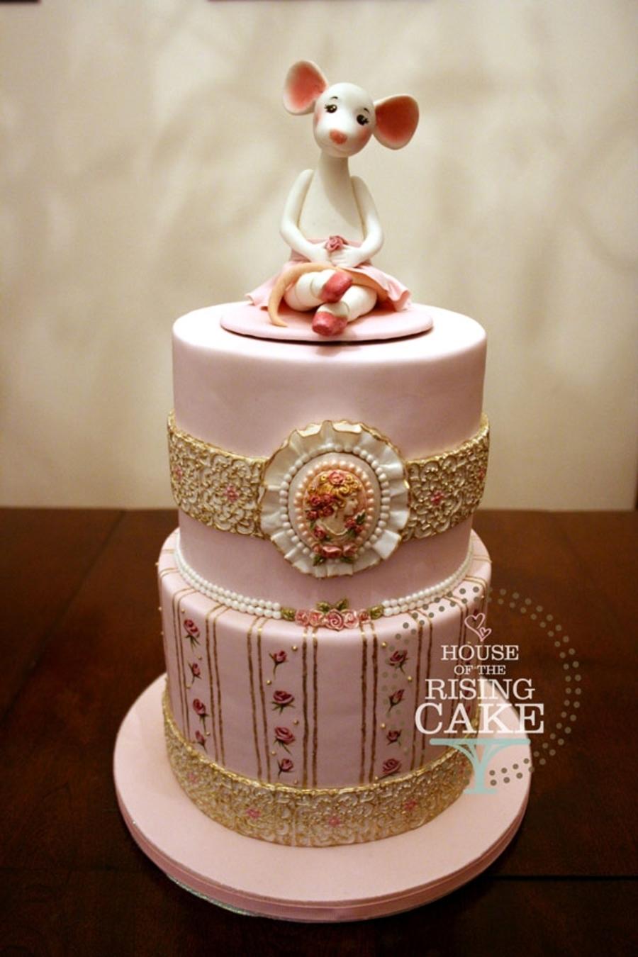 Victorian Ballerina Cake Cakecentral Com