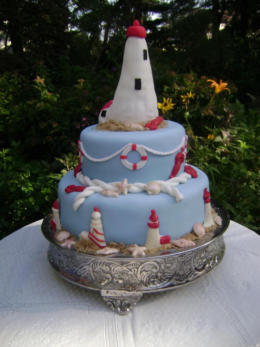 Lighthouse Cake Cakecentral Com