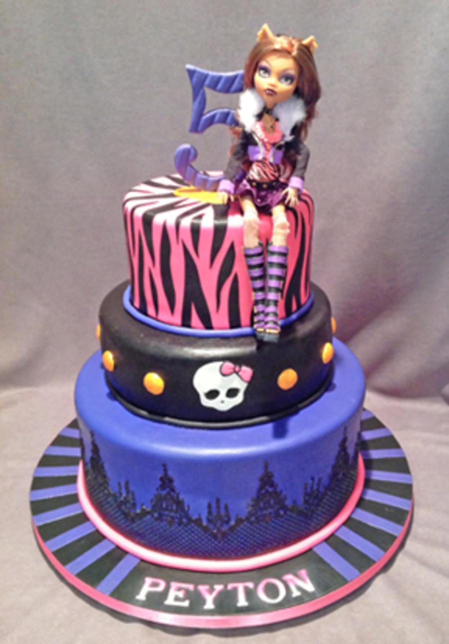 Monster High Wolf Girl Cake Cakecentral Com