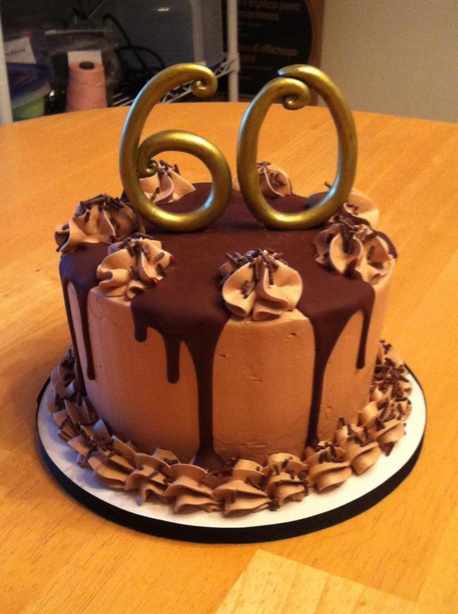 Chocolate Lover S 60th Birthday Cake Cakecentral Com