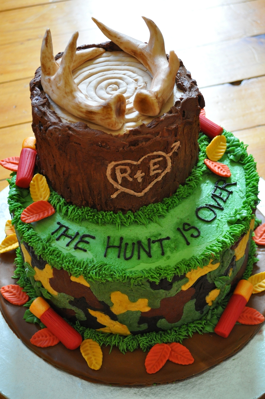 Hunting Groom S Cake Cakecentral Com