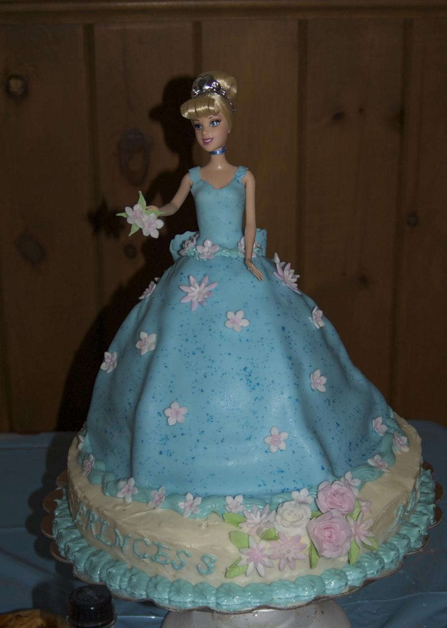 Cinderella Doll Birthday Cake Cakecentral Com