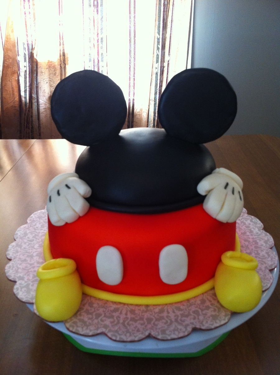 Mickey Mouse Ears Cake Cakecentral Com
