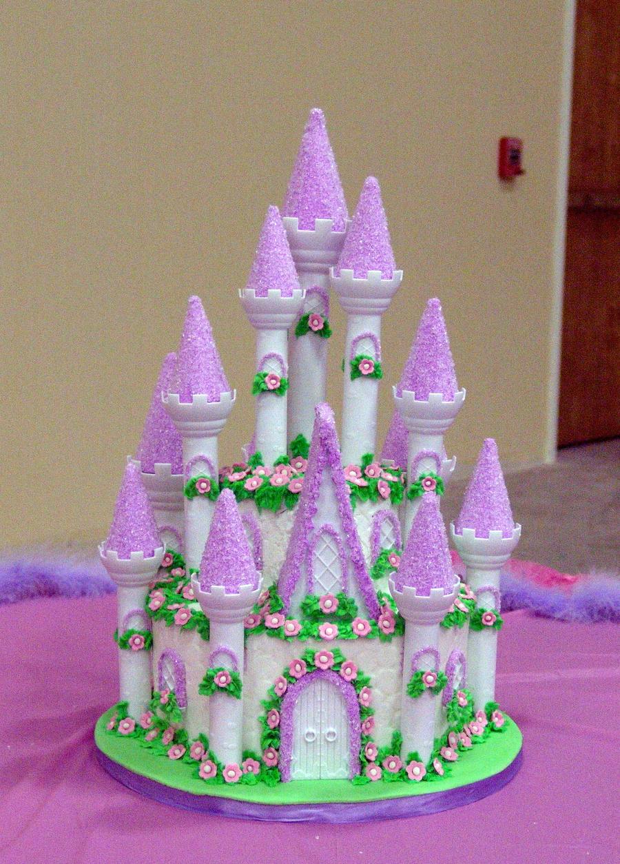 Castle Cake For A Princess Cakecentral Com