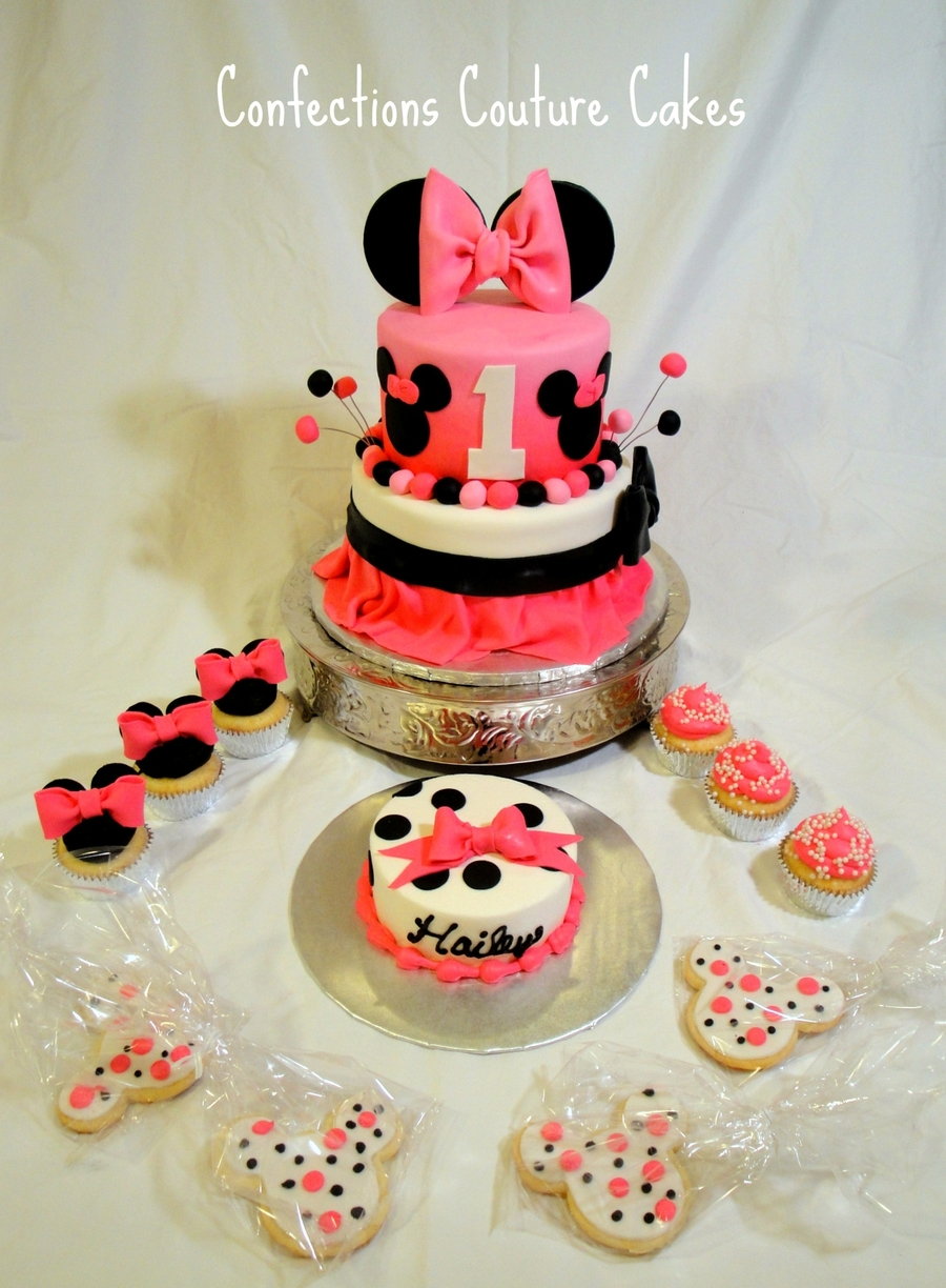 Mini Mouse 1st Birthday Cakecentral Com