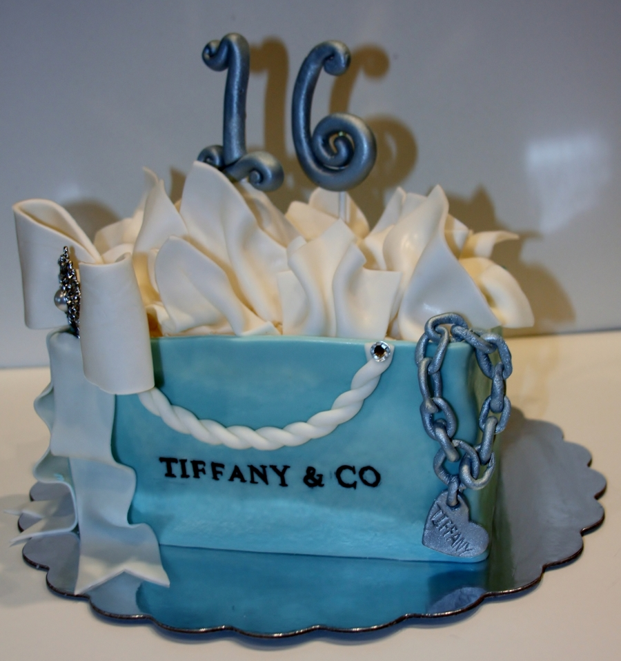 Tiffany S Themed Sweet 16 Cake Cakecentral Com
