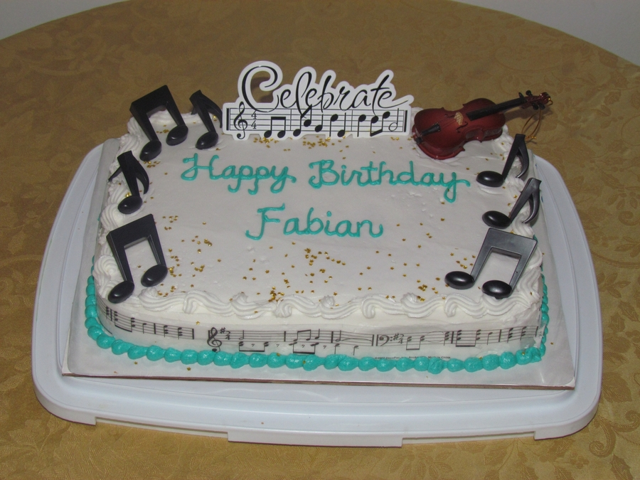 Happy Birthday Fabian Cakecentral Com