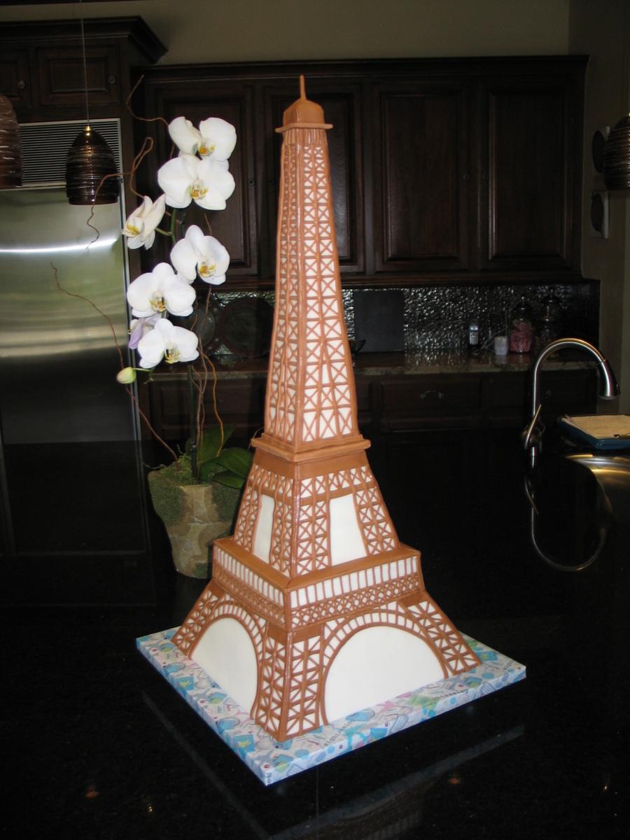 Eiffel Tower Cake Cakecentral Com
