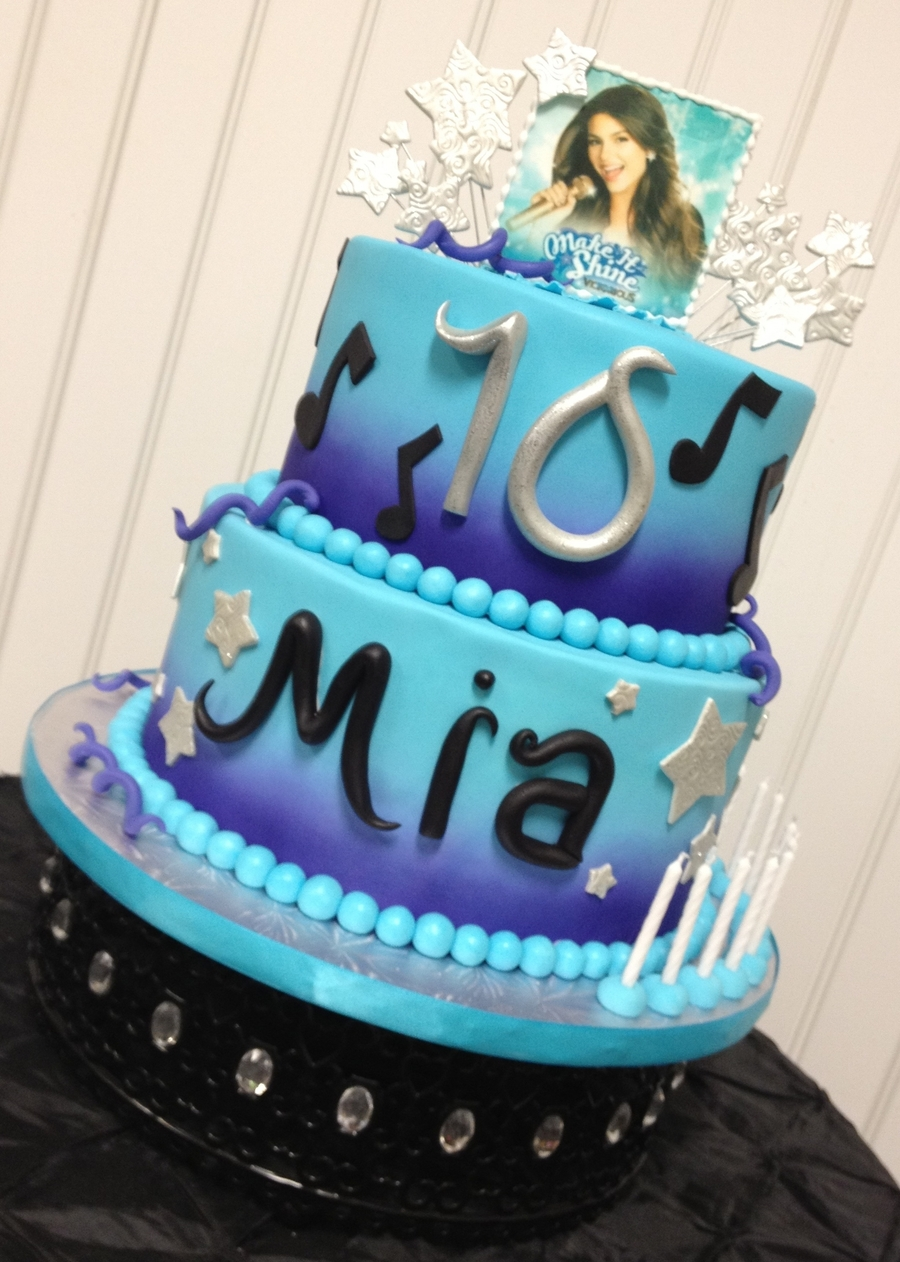 Austin And Ally Birthday Cakes Topsimages