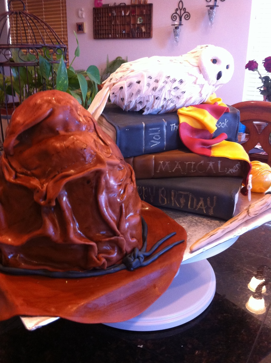 Harry Potter Themed Birthday Cake Cakecentral Com
