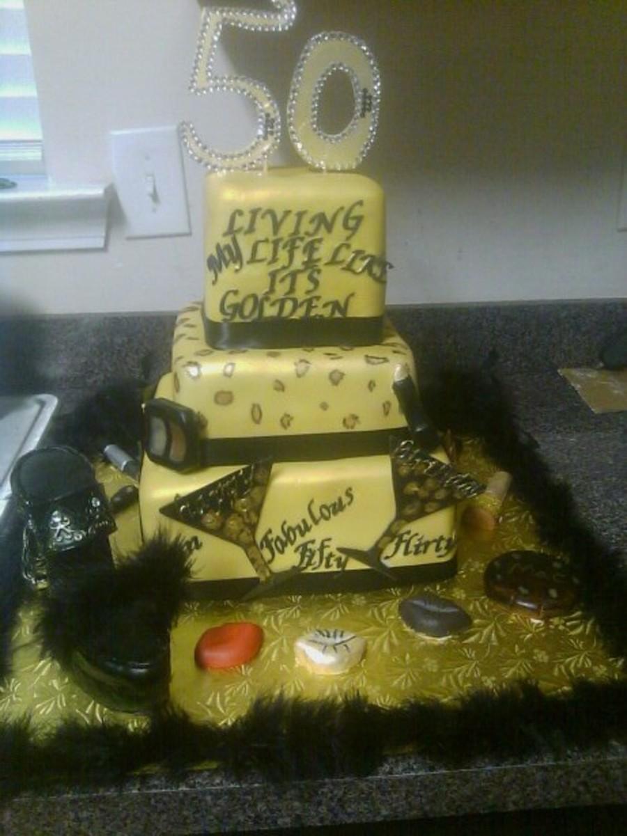 Living My Life Like It S Golden 50th Celebration