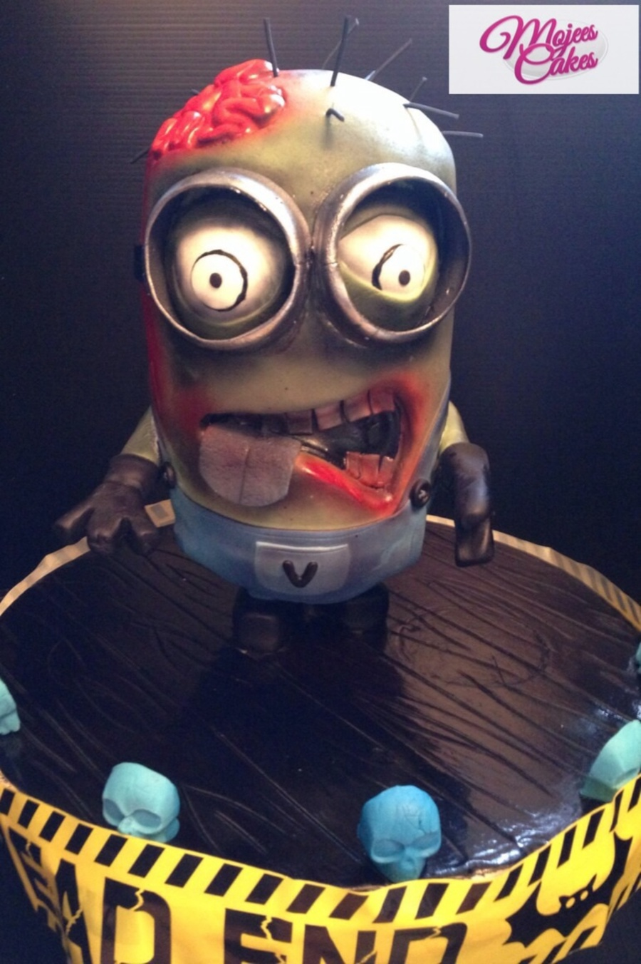Our Walking Dead Minion Cakecentral Com