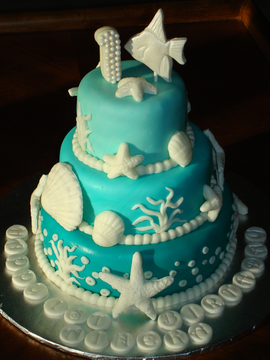 Under The Sea Cake Cakecentral Com