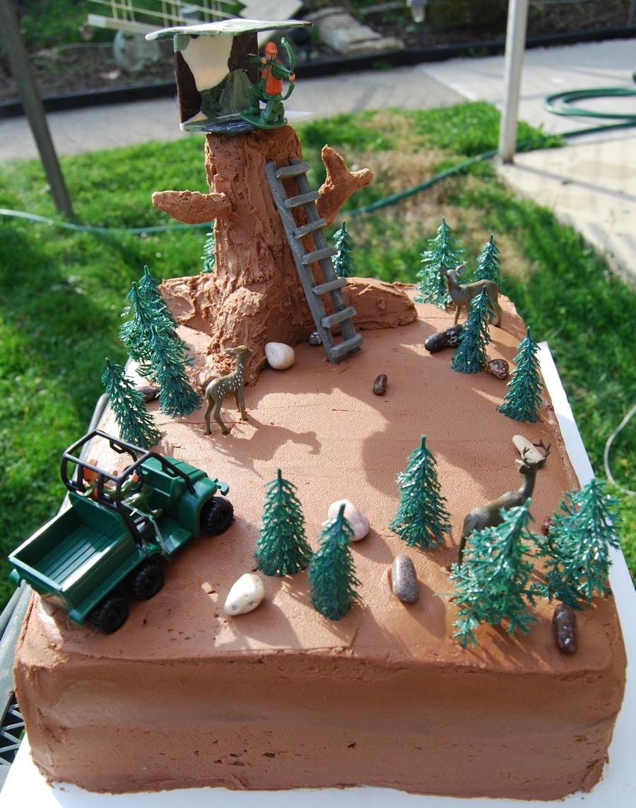 Hunting Birthday Cake Cakecentral Com