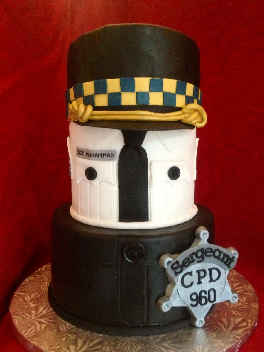 Police Sergeant Promotion Cake Cakecentral Com