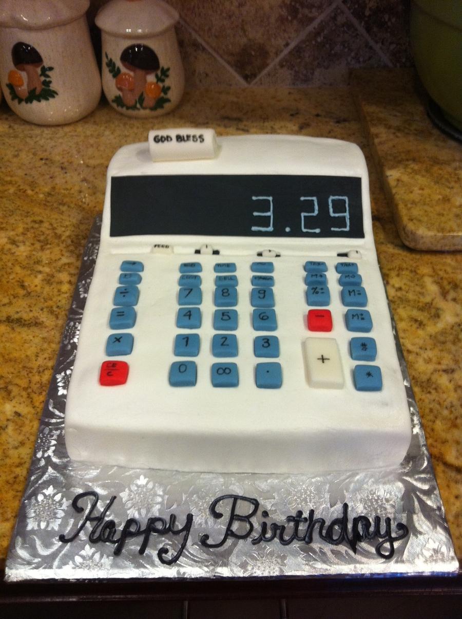 Calculator Cake Cakecentral Com