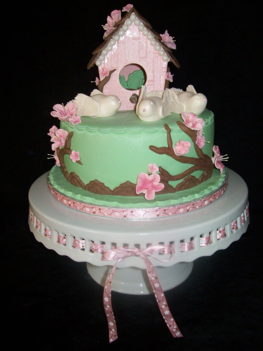 Birdhouse Mother S Day Cake Cakecentral Com