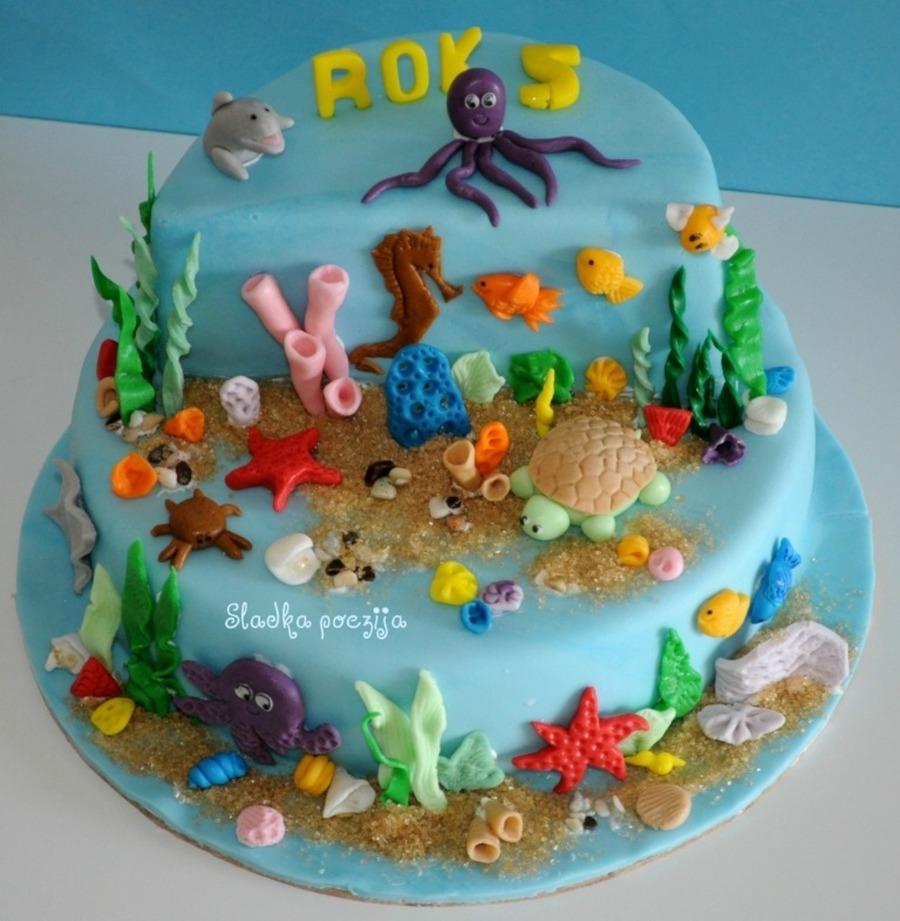 Underwater Cake Cakecentral Com