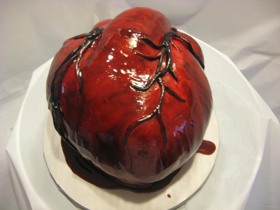 Bleeding Human Heart Cakecentral Com