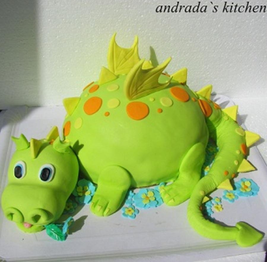 Baby Dragon Cake Cakecentral Com