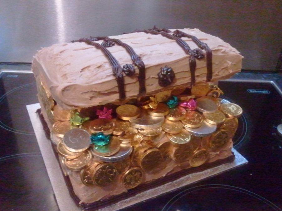 Pirate Treasure Chest Cake Cakecentral Com