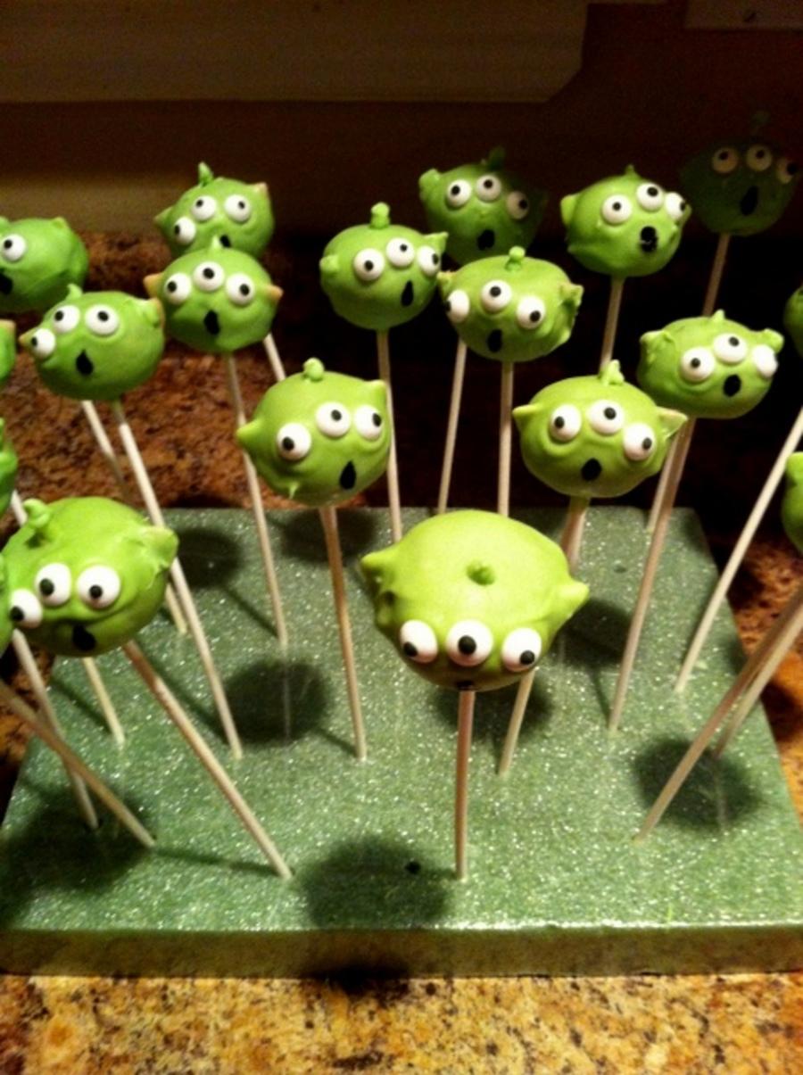 Toy Story Alien Cake Pops Cakecentral Com