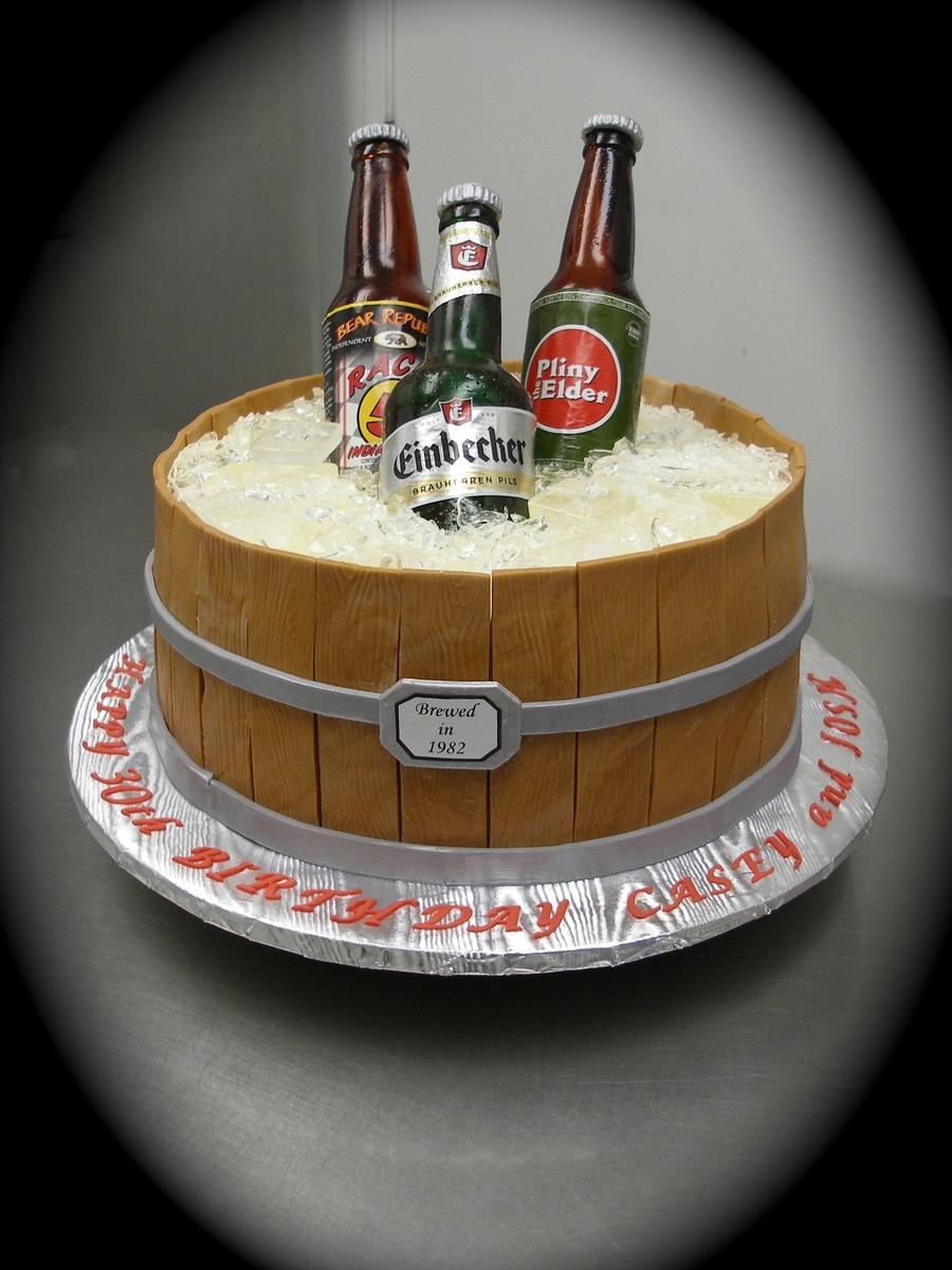 Sugar Beer Bottle Cake Cakecentral Com