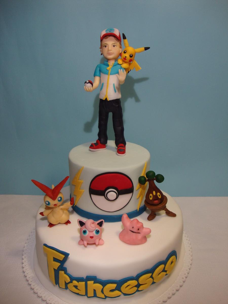 Pokemon S Cake Cakecentral Com