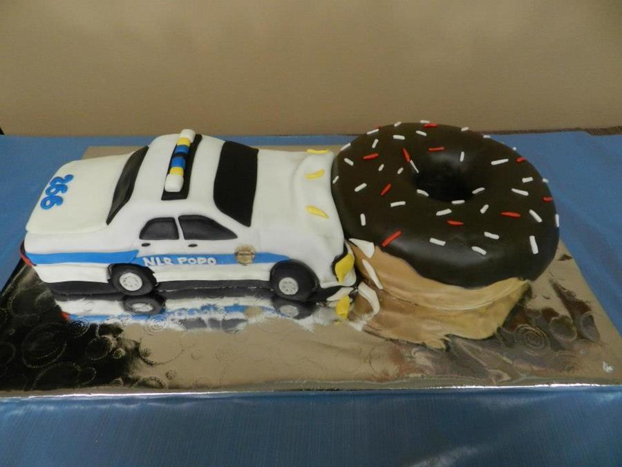 Nlr Arkansas Police Car Grooms Cake Cakecentral Com