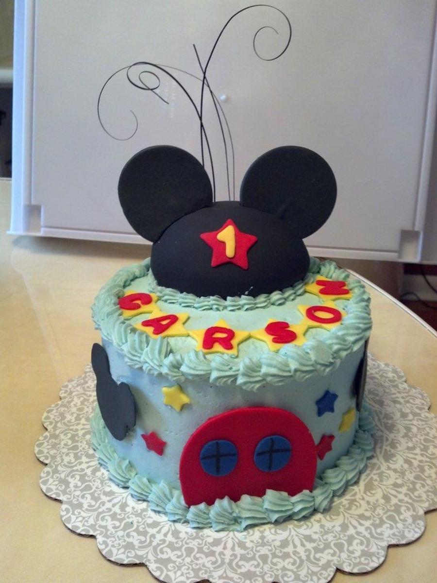 Mickey Mouse Clubhouse Smash Cake Cakecentral Com