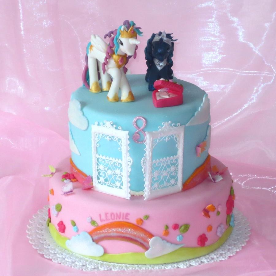 My Little Pony Princess Celestia And Princess Luna