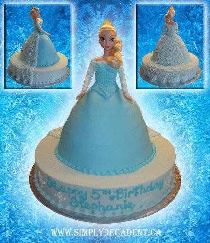 Disney Frozen Elsa Birthday Cake Cakecentral Com