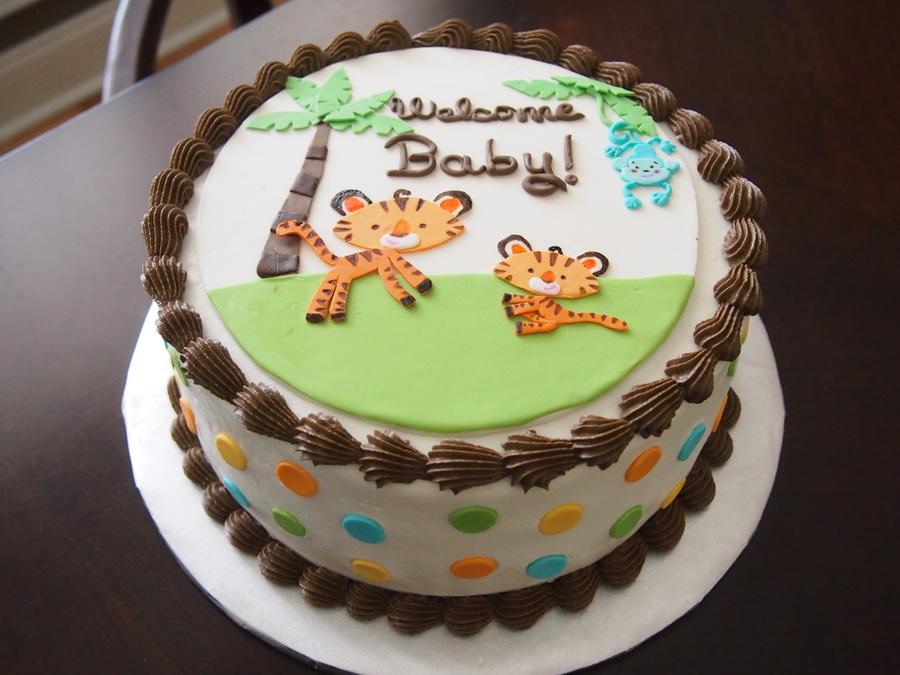 Safari Baby Shower Cake Ideas