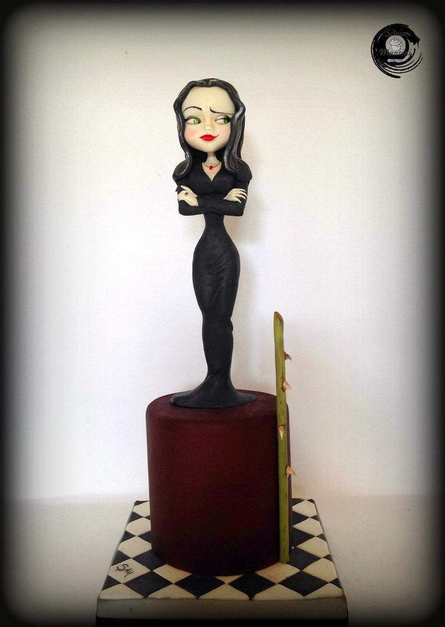 Morticia Addams Cakecentral Com
