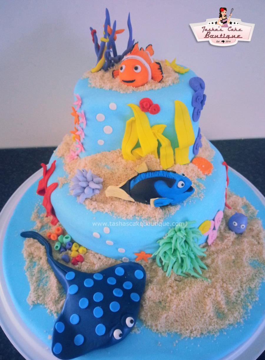 Finding Nemo Cake Cakecentral Com
