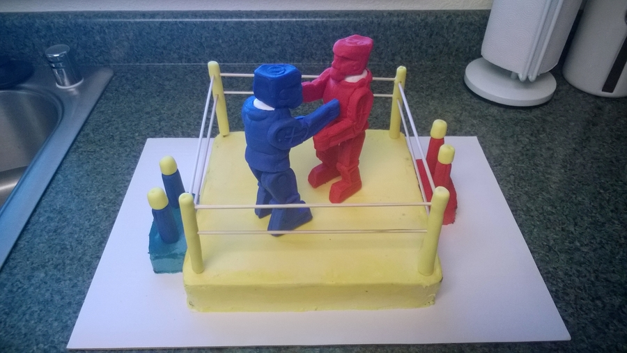 Rock Em Sock Em Robots Cakecentral Com
