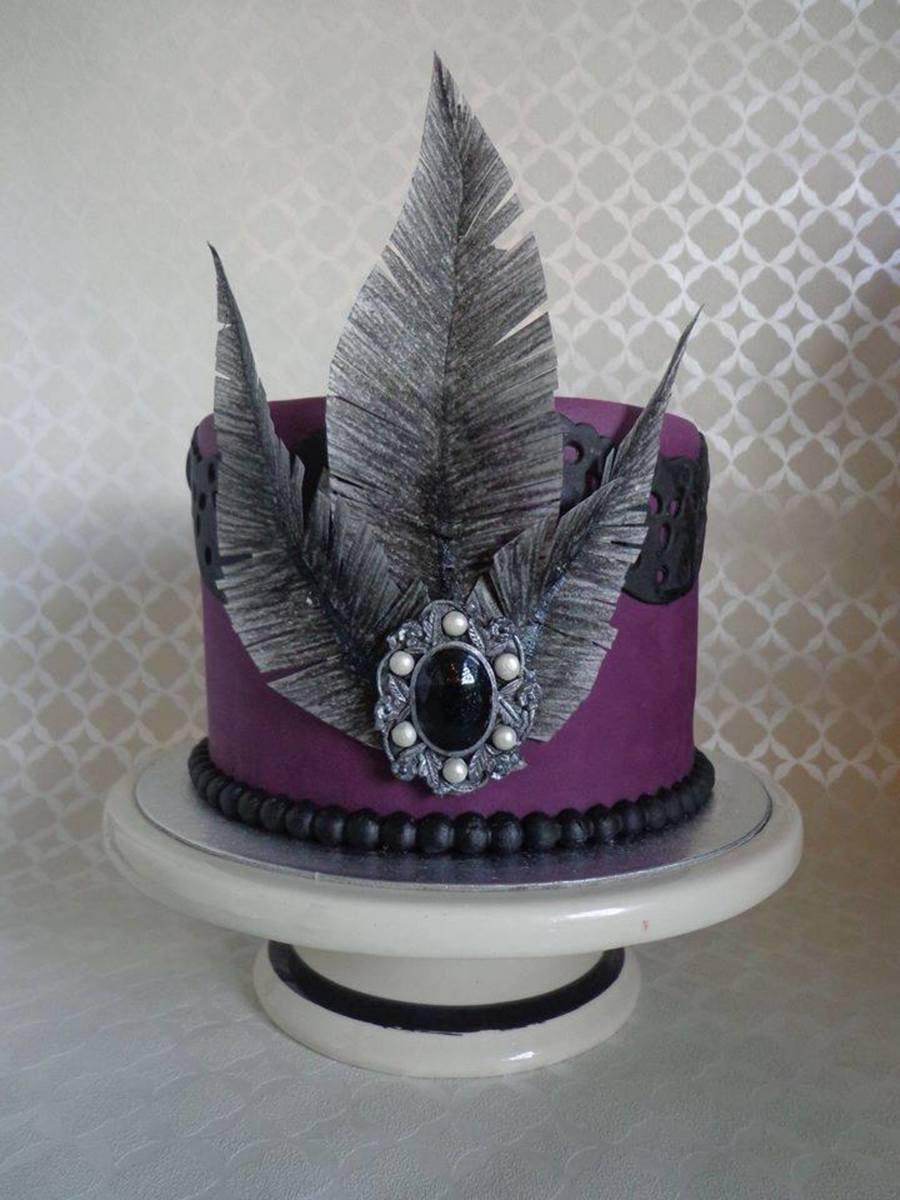 Gothic Cake Cakecentral Com