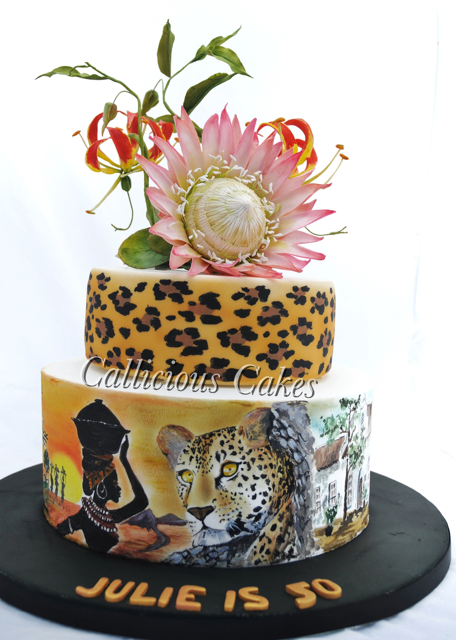 King Protea South African 50th Cakecentral Com
