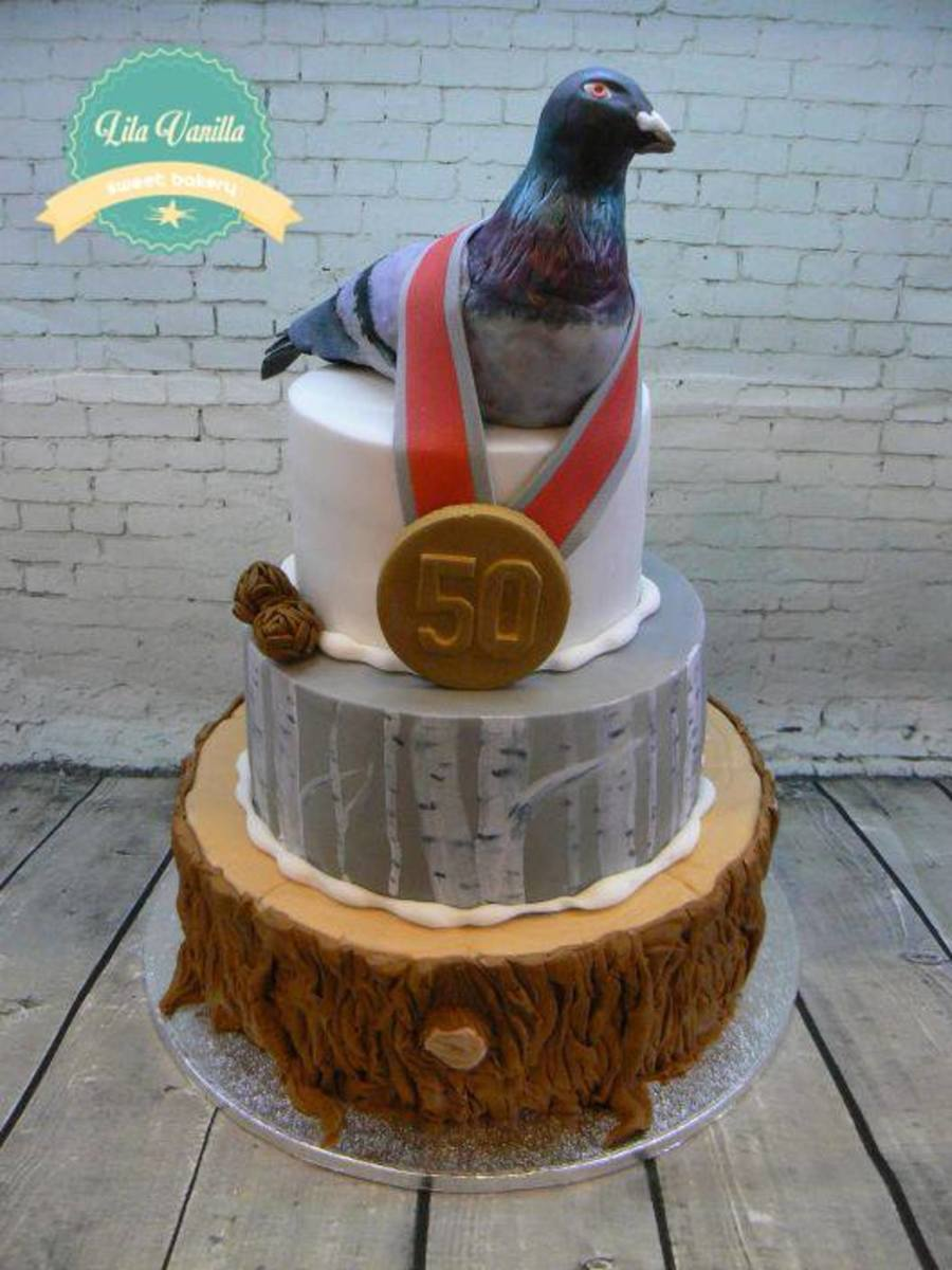 Pigeon Cake Cakecentral Com