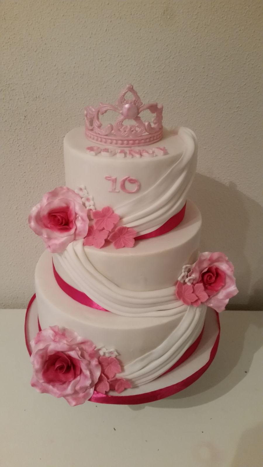 10 Th Birthday Cake Cakecentral Com