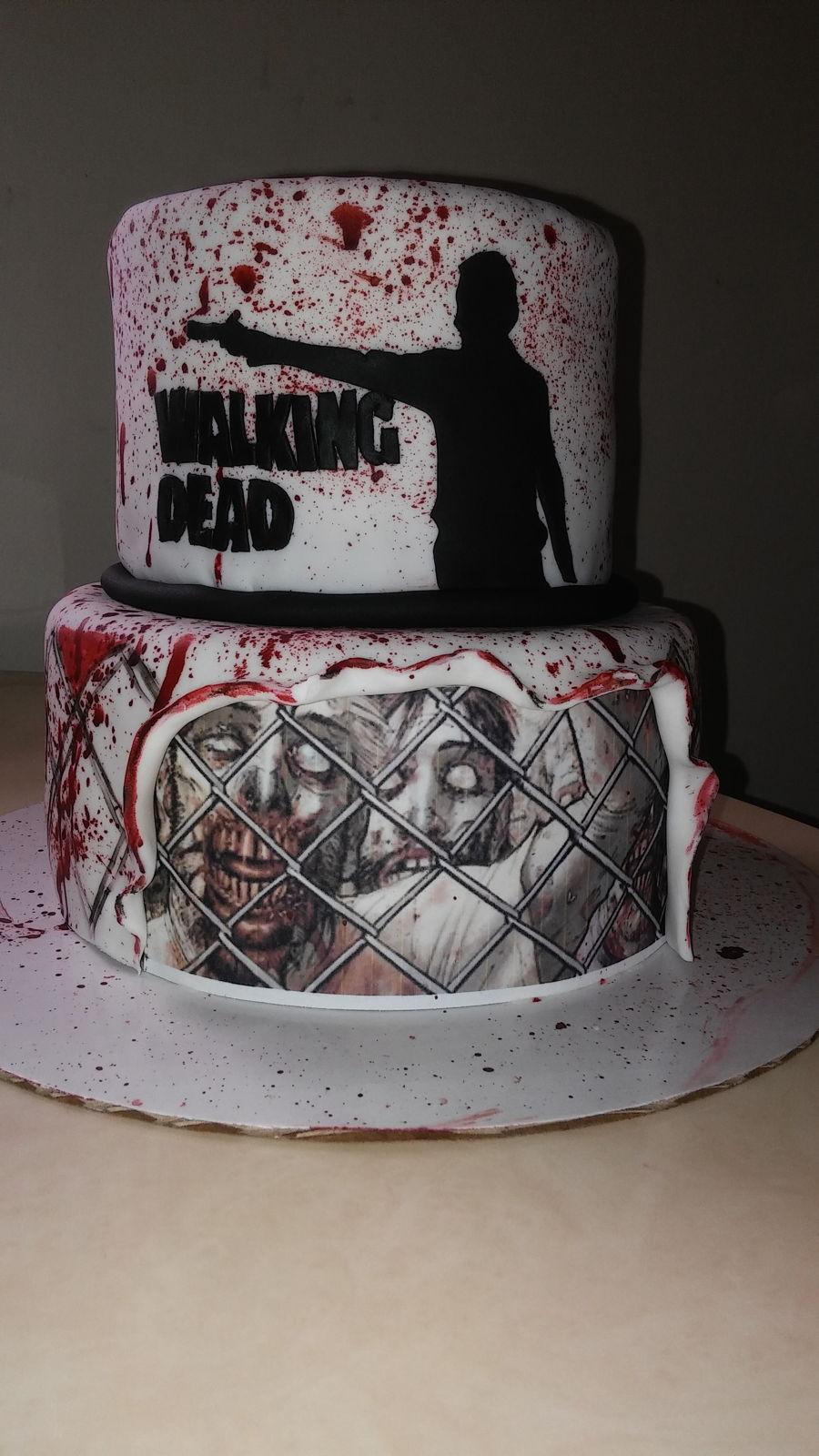 Walking Dead Cake Cakecentral Com