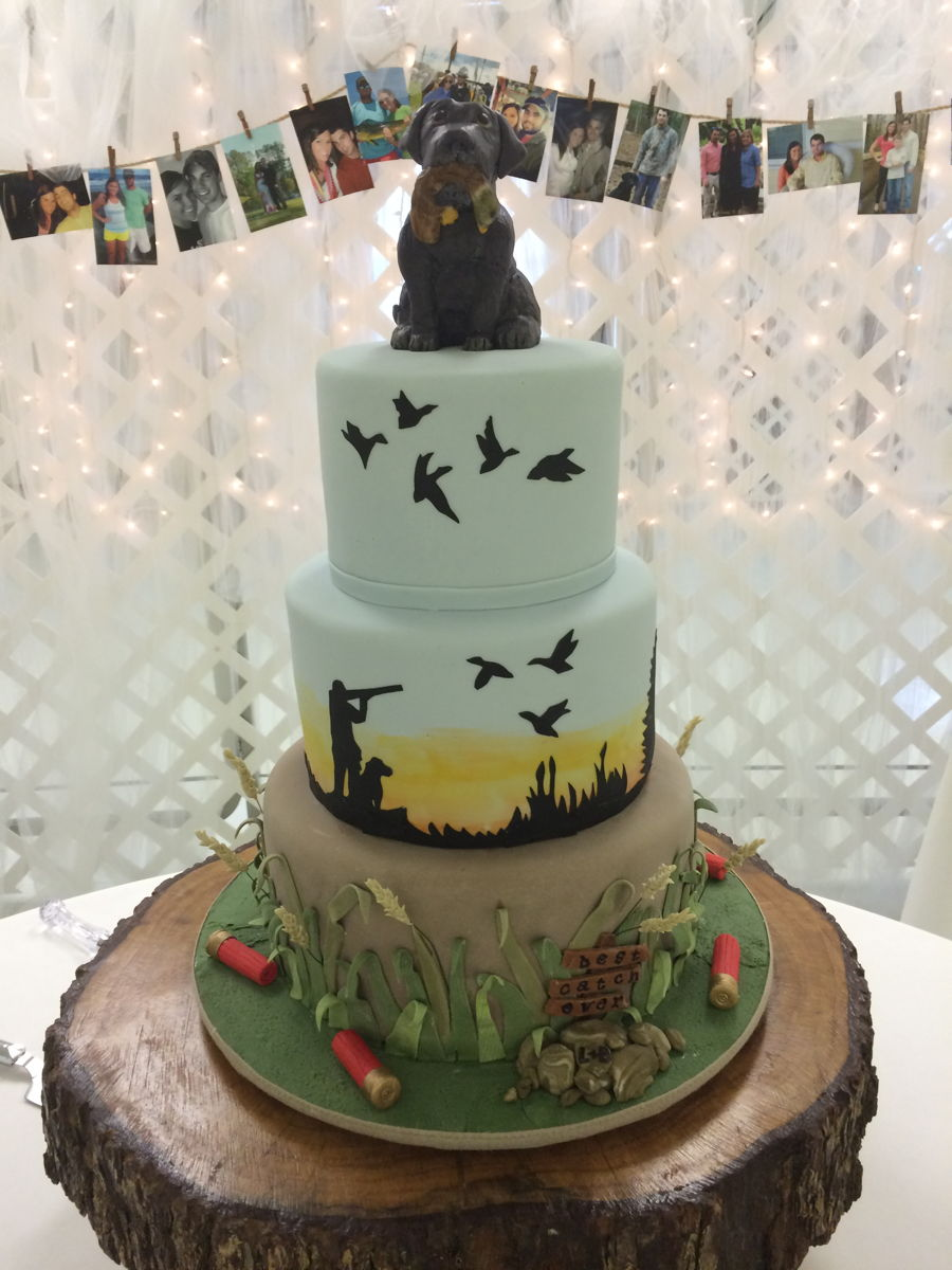Duck Hunter S Grooms Cake Cakecentral Com