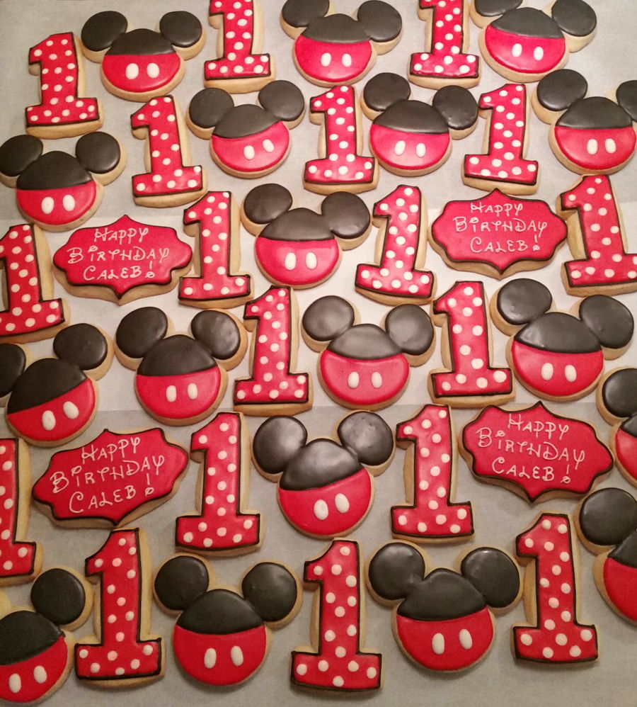 Mickey Mouse Cookies Cakecentral Com